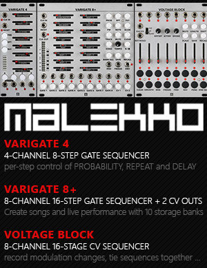 Malekko Heavy Industry Eurorack Modules