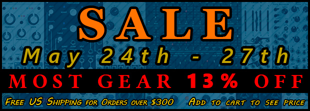 Analogue Haven Memorial Weekend Sale