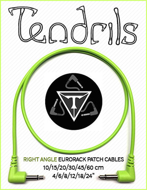 Tendrils Right Angle Patch Cables